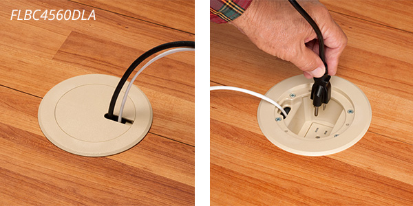 Arlington Recessed Outlet Floor Box